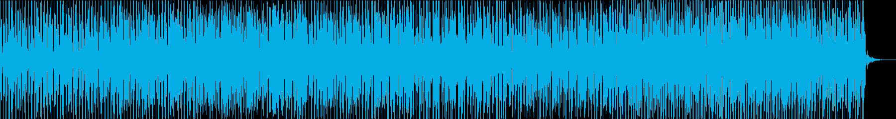 ニュース/説明などのバックに使えるBGMの再生済みの波形