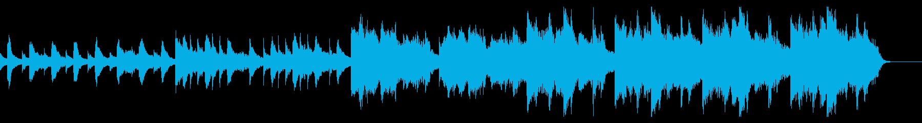悲しいピアノ 回想の再生済みの波形