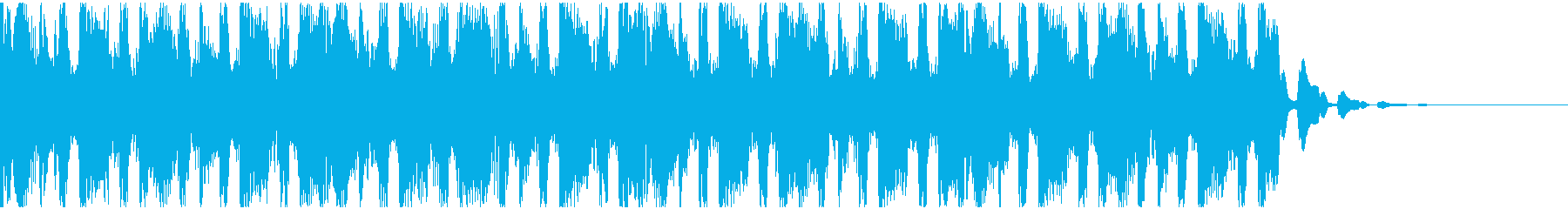 【EDM】トランス、ショート2の再生済みの波形
