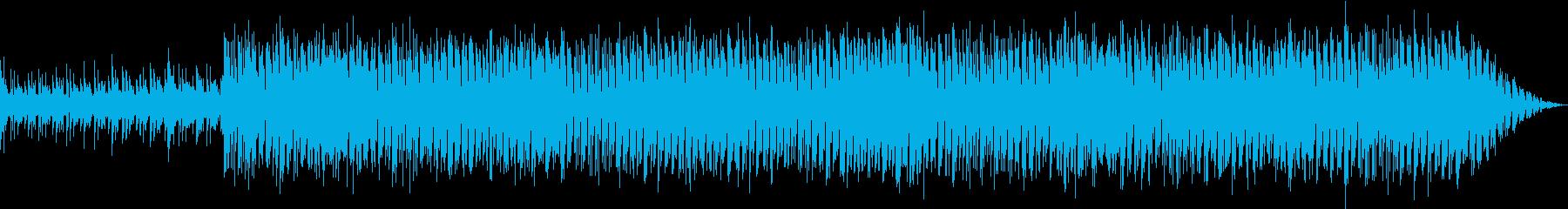 ポコポコと音を鳴らしてますの再生済みの波形