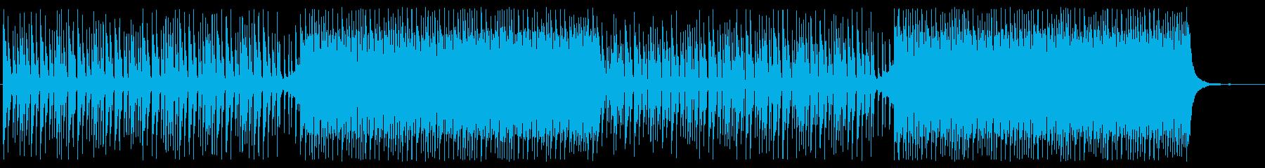 ミステリアス テクノロジー CMや映像にの再生済みの波形