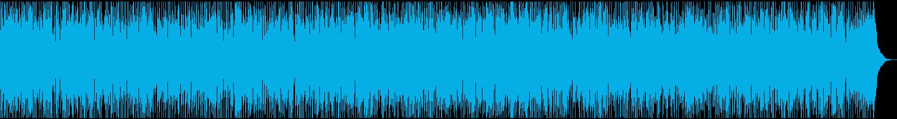 和やかで優しい雰囲気のカントリー風BGMの再生済みの波形