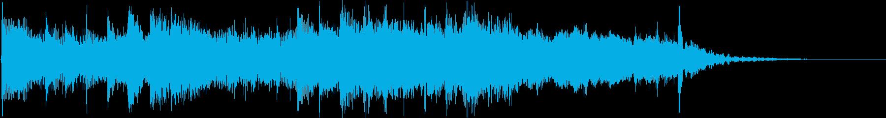 夜を意識した短いシーン効果音です。の再生済みの波形