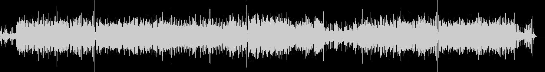 ピアノ&エレクトロニカ 印象的な旋律の未再生の波形