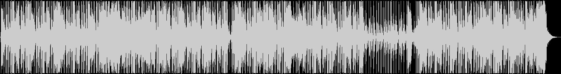 ファンキーなロックステディの未再生の波形
