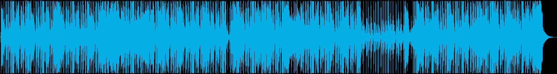 ファンキーなロックステディの再生済みの波形