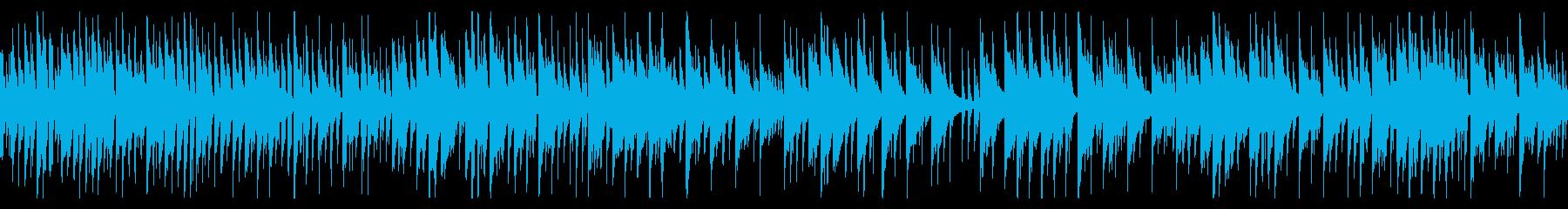 可愛くてほのぼのしたゲーム音楽の再生済みの波形