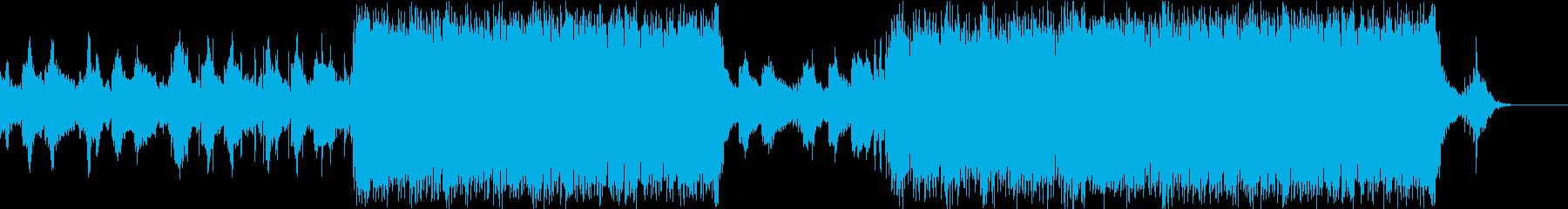 ハリウッド映画 ピアノ系トレーラーの再生済みの波形