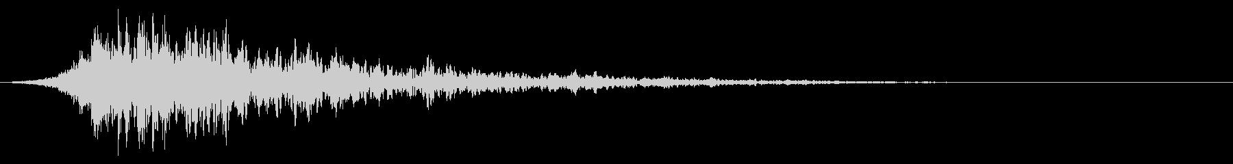 シュードーン-43-2(インパクト音)の未再生の波形