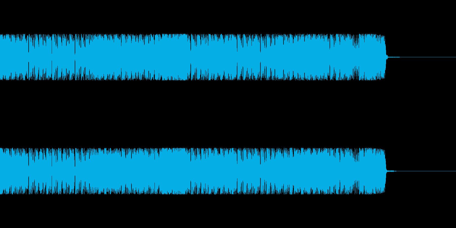 【EDM風】近未来、サイバーなOP、広告の再生済みの波形