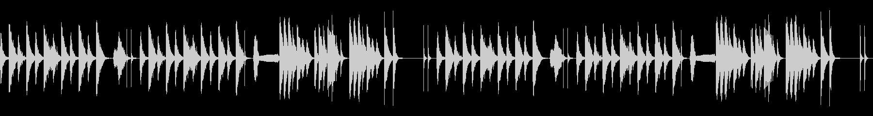劇伴 シンプル 日常 ネコの鳴き声入Bの未再生の波形