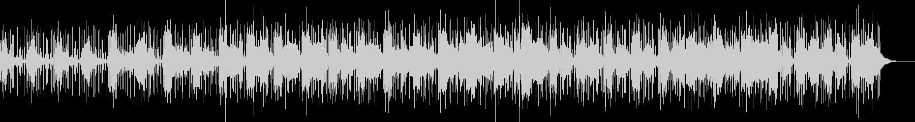エレクトロミュージックの未再生の波形
