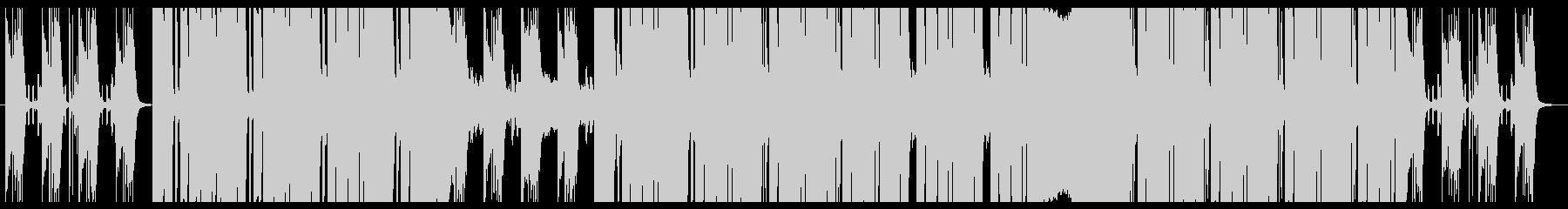 さわやかな朝に似合うポップEDMの未再生の波形