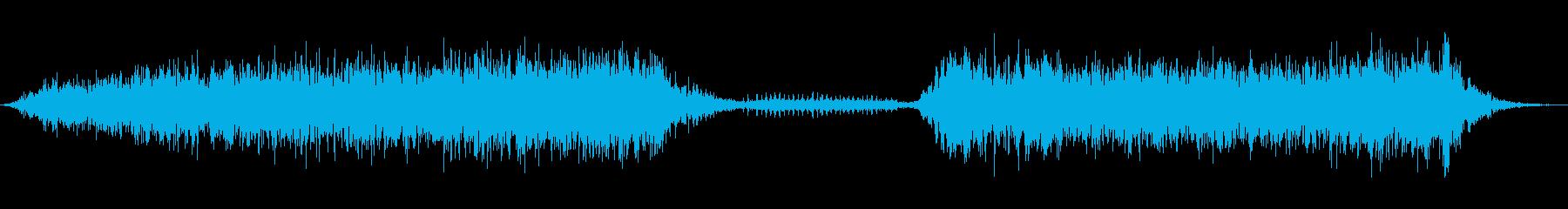 大型のマコウ:INT:2つの呼び出...の再生済みの波形