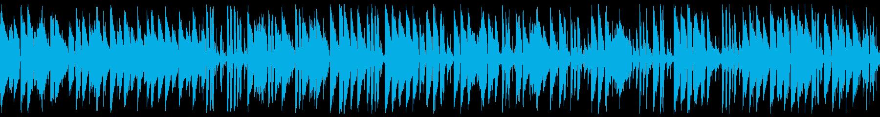 優雅で明るいお洒落 ジャズピアノ(ループの再生済みの波形