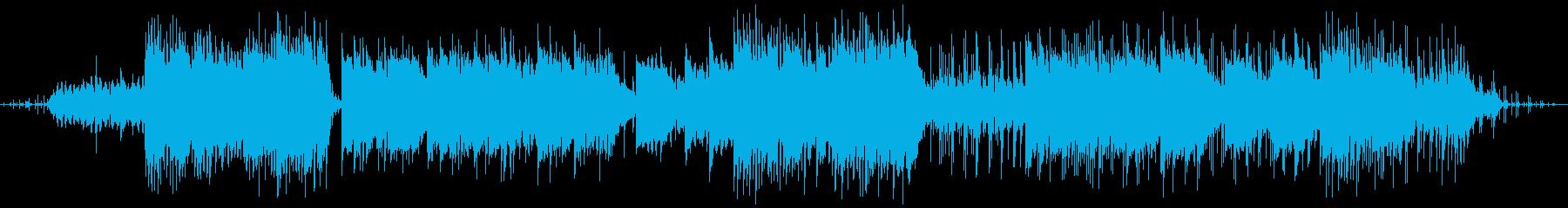 エレクトロニック 説明的 クール ...の再生済みの波形