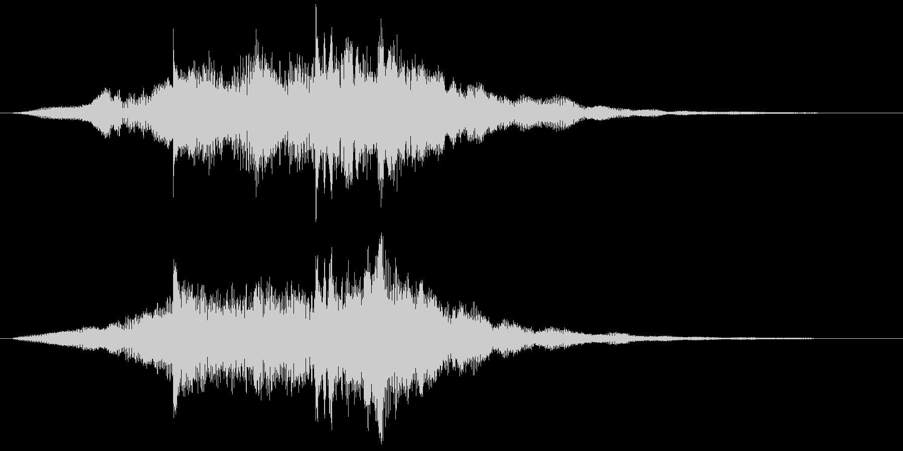 サウンド・ロゴ4、企業、コンテンツ Cの未再生の波形