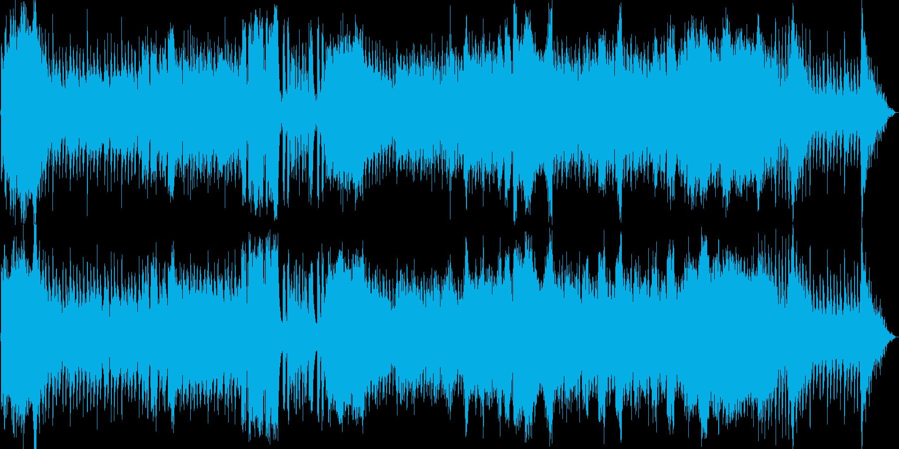 バイオリンがカッコいいバトル曲の再生済みの波形