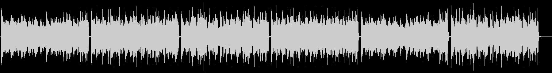 メロウで神秘的なピアノのLofi・チルの未再生の波形