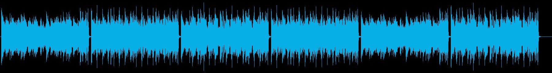 メロウで神秘的なピアノのLofi・チルの再生済みの波形