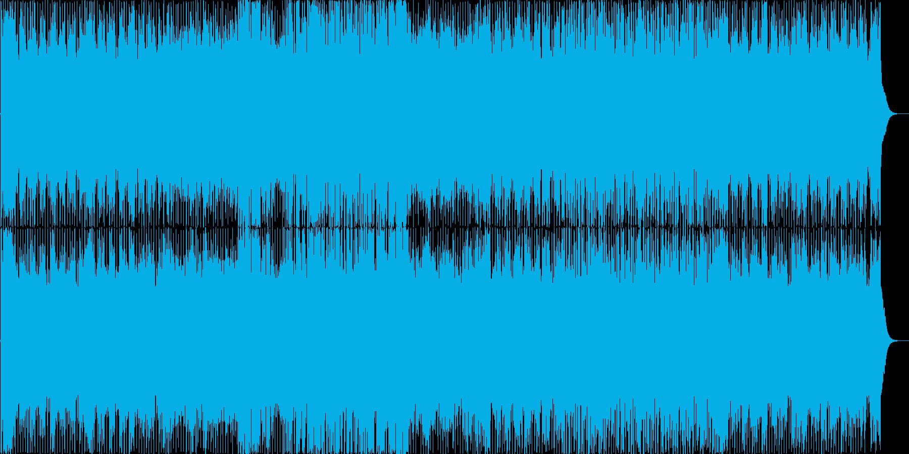 ゲームのボーナスステージ的ハッピーBGMの再生済みの波形