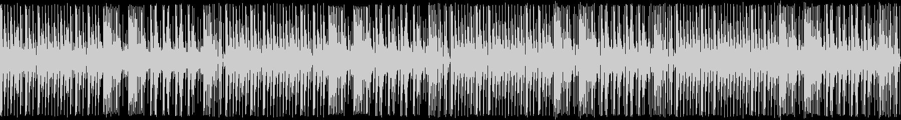 【ループ版】YouTubeアコギ木琴の未再生の波形