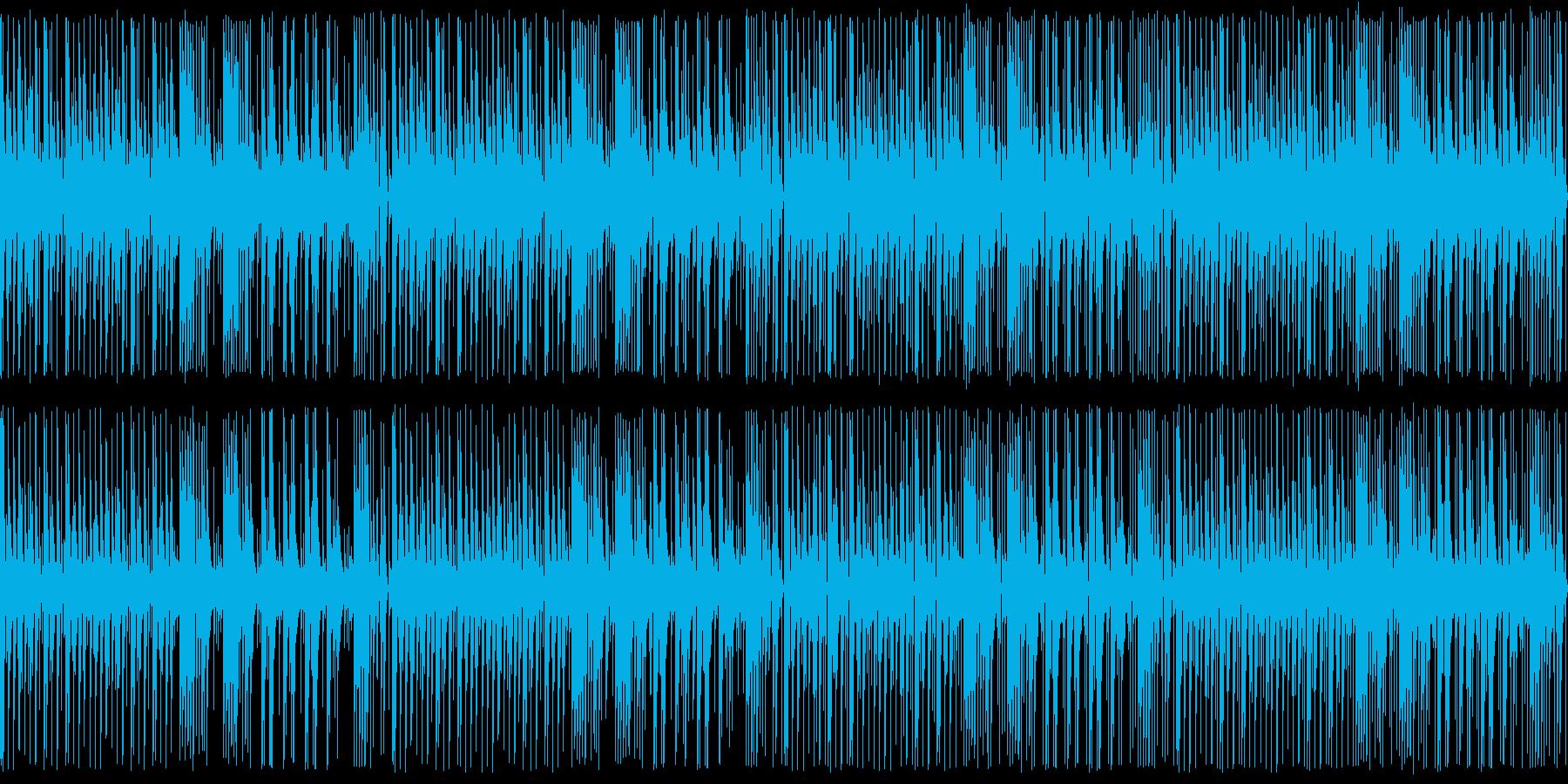 【ループ版】YouTubeアコギ木琴の再生済みの波形