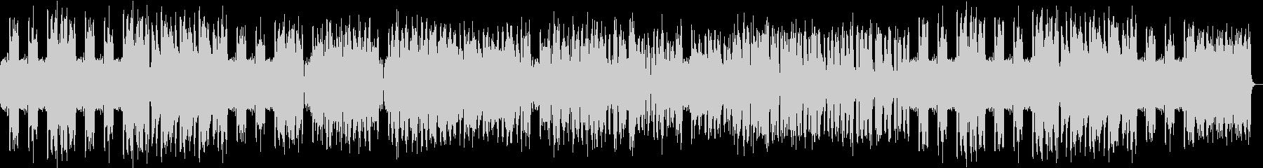 フルートの軽やかなボサノバの未再生の波形