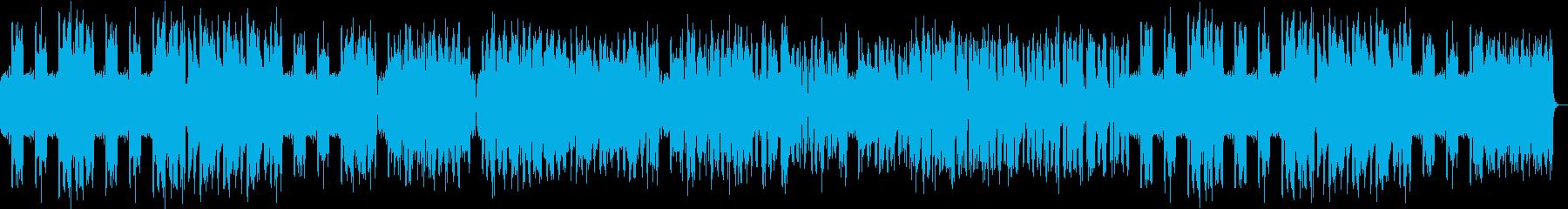 フルートの軽やかなボサノバの再生済みの波形