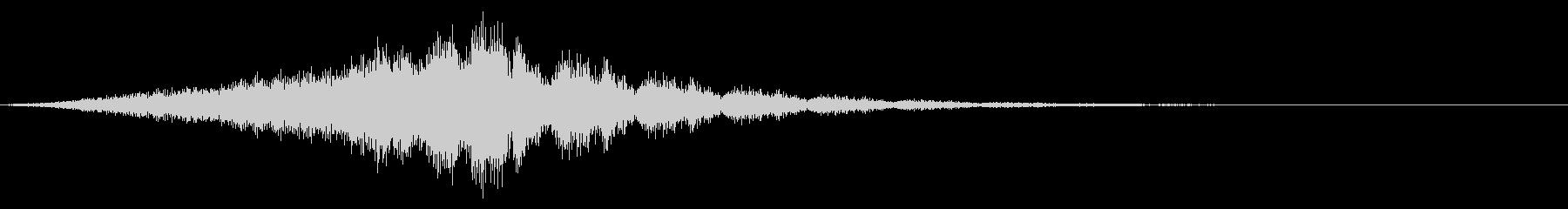 タイトルSE ver02(きらびやか)の未再生の波形