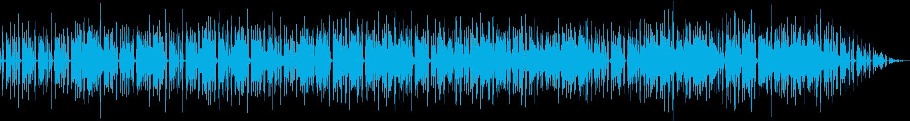 レトロでゆるくhappyなポップスの再生済みの波形