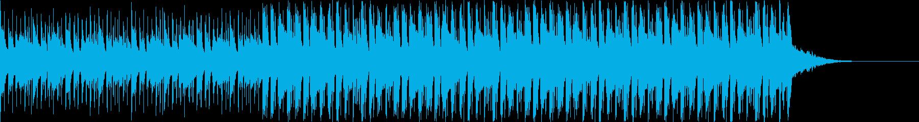 Pf「展望」和風現代ジャズの再生済みの波形