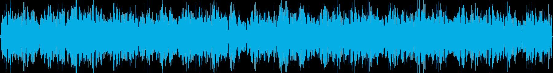 クラブ向けのループトランスBGMの再生済みの波形