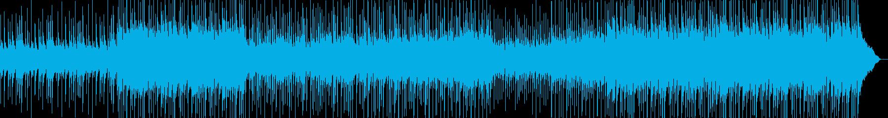 高揚感ある綺麗めな明るいメロディの再生済みの波形