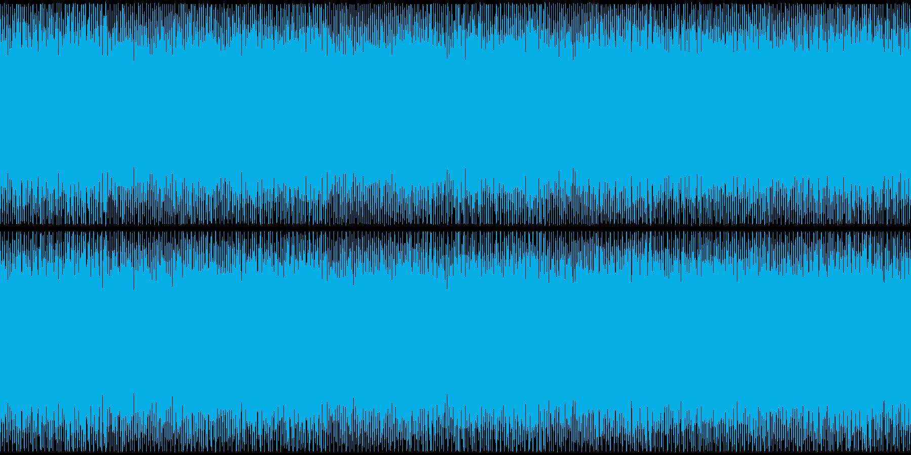 ニュースや映像、ループ可能なハウス1の再生済みの波形