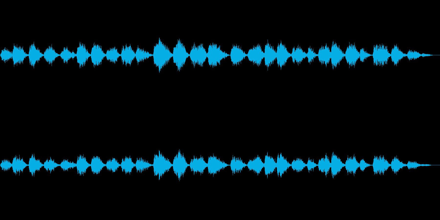 声なき歌声に包まれての再生済みの波形