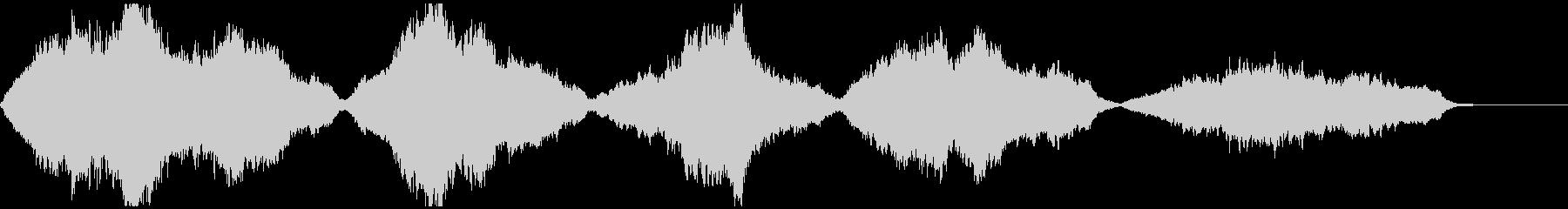 幻想的・感動的なストリングスのカルテットの未再生の波形