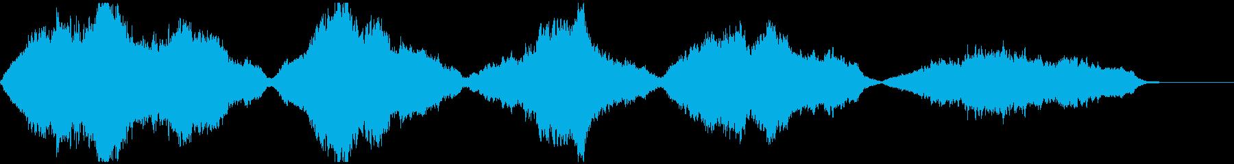 幻想的・感動的なストリングスのカルテットの再生済みの波形