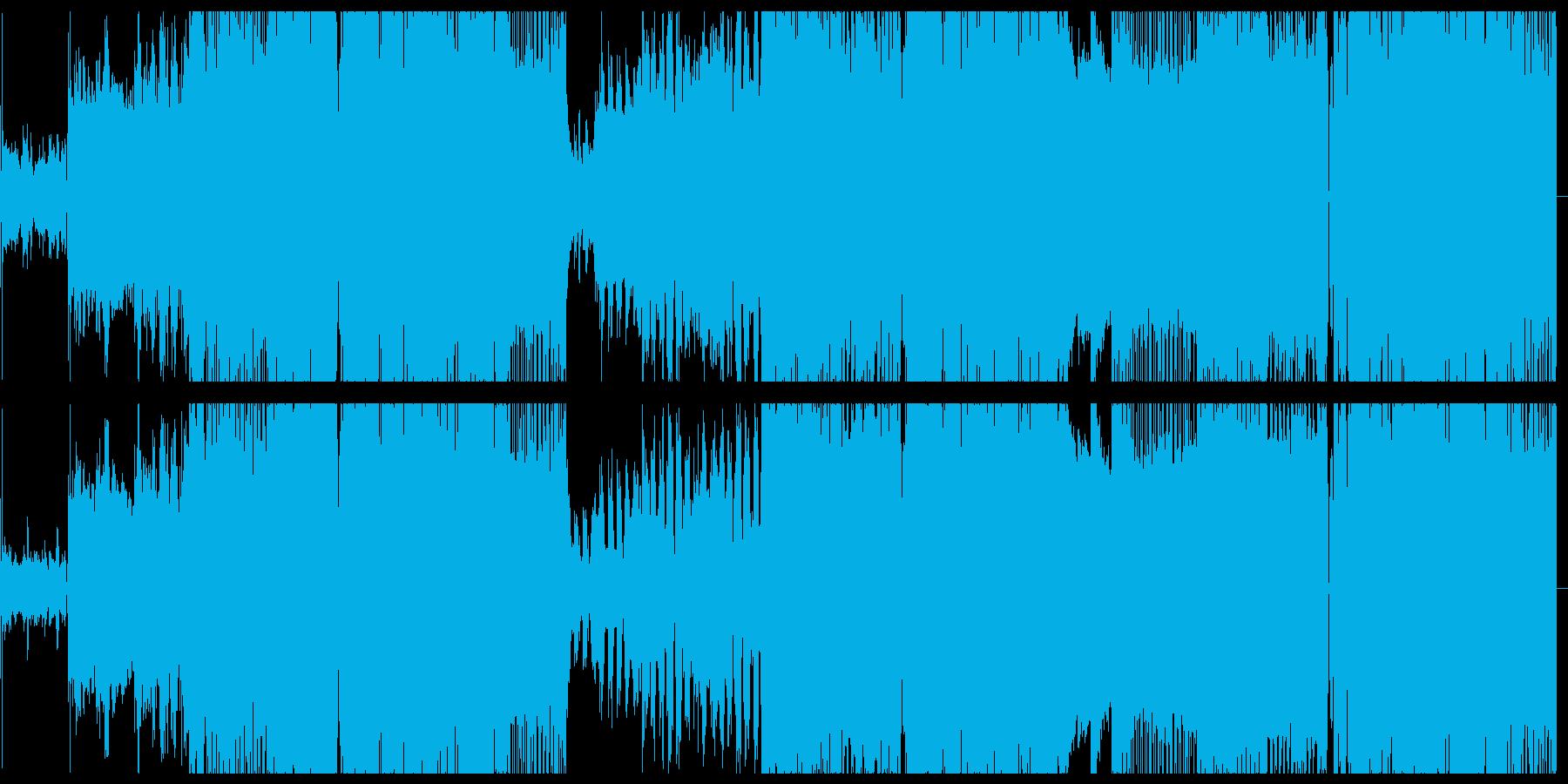 怪しげな雰囲気のアッパーなバンドサウンドの再生済みの波形