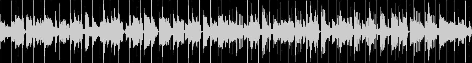 ファンク セッション風 ループ Bの未再生の波形