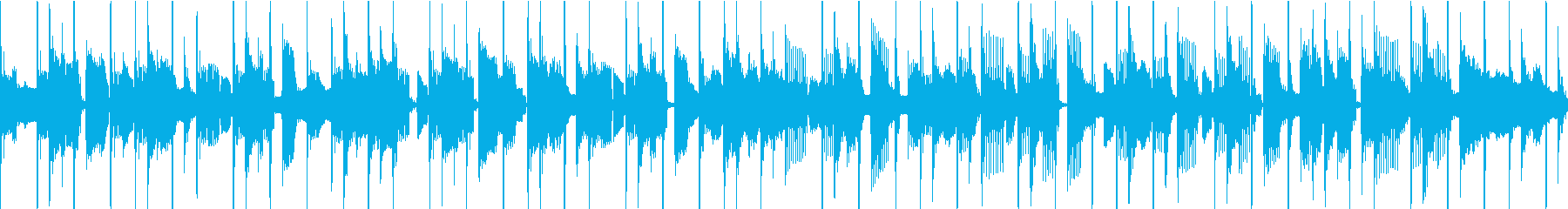 ファンク セッション風 ループ Bの再生済みの波形