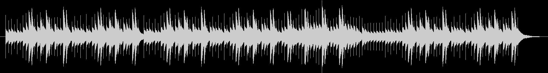 エリーゼのために、オルゴール風の未再生の波形