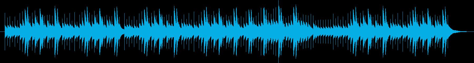 エリーゼのために、オルゴール風の再生済みの波形