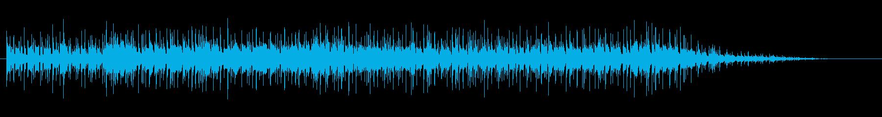 フルートによるわくわくフュージョンの再生済みの波形