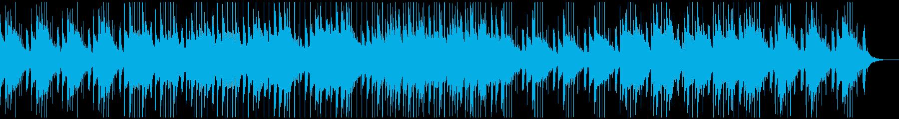 琴の奏でる神秘的な和風曲の再生済みの波形
