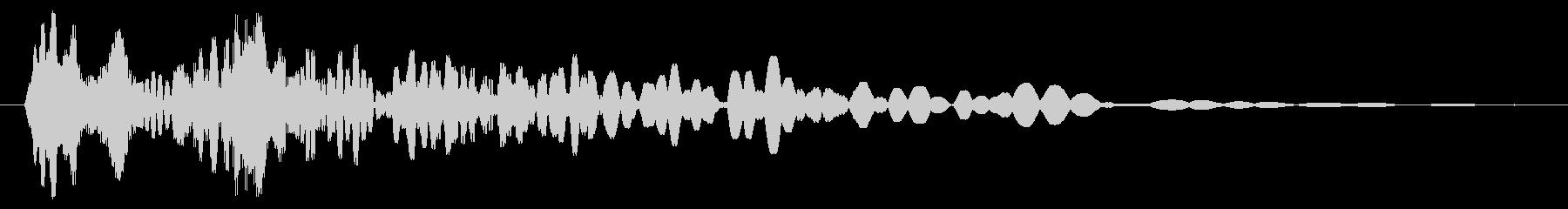 パッカードザップの未再生の波形