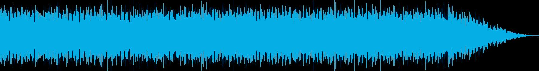 耳に残るフレーズのダンスミュージックの再生済みの波形
