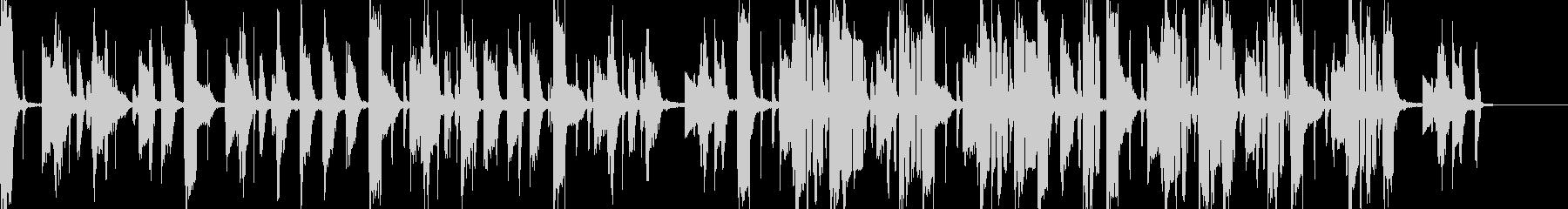 ボーカルなしのオシャレなソウルホップの未再生の波形