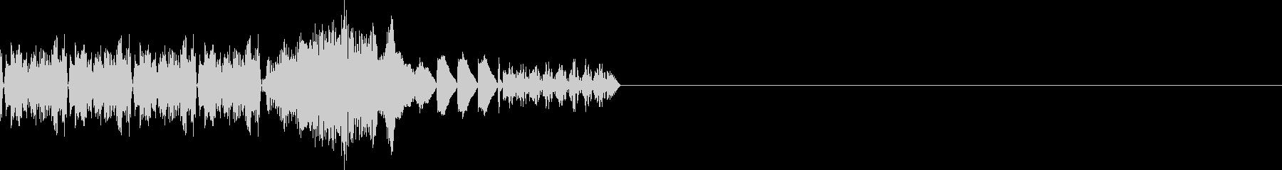 データ解析(画面にデータ表示)の未再生の波形