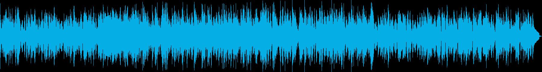 ほのぼのとした朝に似合うBGMの再生済みの波形